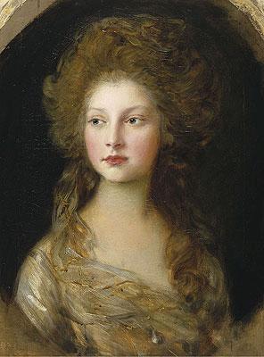 Princess Elizabeth, 1782 | Gainsborough | Painting Reproduction