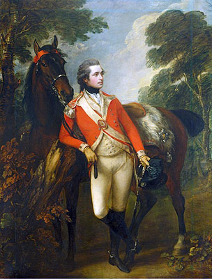 John Hayes St Leger, 1782 | Gainsborough | Painting Reproduction