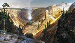 Thomas Moran   The Grand Canyon of the Yellowstone, 1872   Giclée Canvas Print