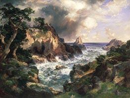 Thomas Moran   Point Lobos, Monterey, California, 1912   Giclée Canvas Print