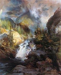 Thomas Moran   Children of the Mountain, 1866   Giclée Canvas Print