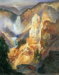 Thomas Moran | Grand Canyon of the Yellowstone | Giclée Canvas Print