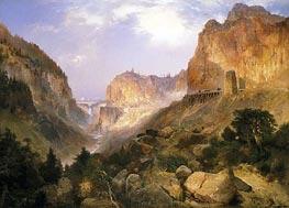 Thomas Moran | Golden Gate, Yellowstone National Park | Giclée Canvas Print