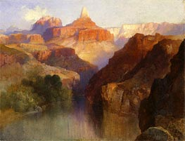 Thomas Moran   Zoroaster Peak (Grand Canyon, Arizona), 1918   Giclée Canvas Print