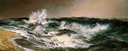 Thomas Moran | The Much Resounding Sea | Giclée Canvas Print