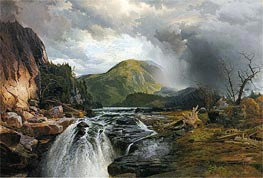 Thomas Moran | The Wilds of Lake Superior, 1864 | Giclée Canvas Print