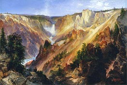 Thomas Moran | The Grand Canyon of the Yellowstone, c.1893/01 | Giclée Canvas Print