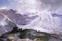 Thomas Moran | The Musquito Trail, Rocky Mountains of Colorado | Giclée Canvas Print