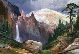 Thomas Moran | Tower Falls and Sulphur Mountain | Giclée Canvas Print