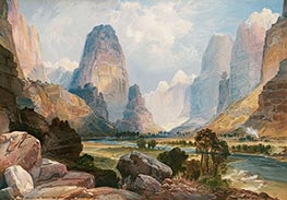 Thomas Moran | Valley of Babbling Waters, 1876 | Giclée Paper Print