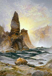 Thomas Moran | The Towers of Tower Falls, Yellowstone, 1875 | Giclée Paper Print