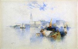 Thomas Moran | Basin of San Marco | Giclée Paper Print