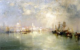 Venice: Reminiscence of Vera Cruz, Mexico, 1886 by Thomas Moran | Giclée Canvas Print