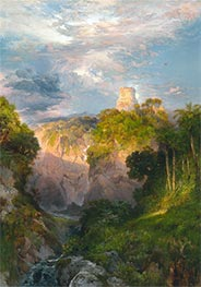 Cortez Tower, Mexico, 1883 by Thomas Moran | Giclée Canvas Print