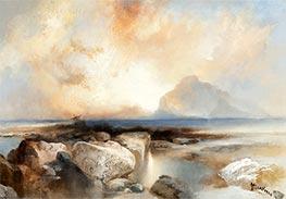 Seascape, 1924 by Thomas Moran   Giclée Canvas Print