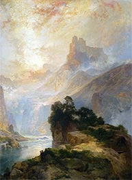 The Glory of the Canyon, 1875 by Thomas Moran | Giclée Canvas Print