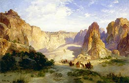 The Rocks of Acoma, 1904 by Thomas Moran   Giclée Canvas Print