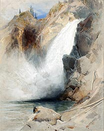 The Upper Falls of the Yellowstone, 1872 by Thomas Moran | Giclée Paper Print
