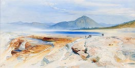 Thomas Moran | The Main Springs at Gardiner's River | Giclée Canvas Print