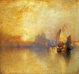 Opalescent Venice, undated by Thomas Moran | Giclée Canvas Print