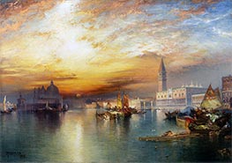 Thomas Moran | Grand Canal, Venice | Giclée Canvas Print