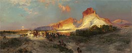 Thomas Moran | Green River Cliffs, Wyoming | Giclée Canvas Print