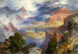 Thomas Moran | Grand Canyon in Mist | Giclée Canvas Print