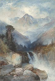 Mountain of the Holy Cross, 1890 by Thomas Moran | Giclée Paper Print