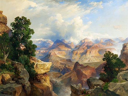 The Grand Canyon, 1913 | Thomas Moran | Painting Reproduction