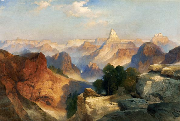 Grand Canyon, 1920 | Thomas Moran | Painting Reproduction