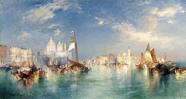 Venice, 1898 | Thomas Moran | Painting Reproduction