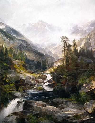 The Mountain of the Holy Cross, 1875 | Thomas Moran | Painting Reproduction