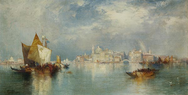 Venice, 1900 | Thomas Moran | Painting Reproduction