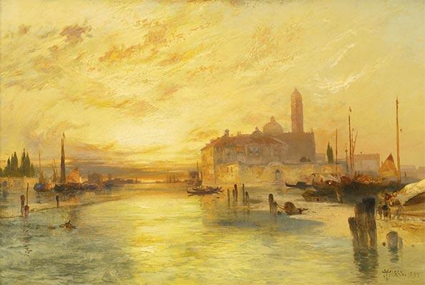 Venice, 1890 | Thomas Moran | Painting Reproduction