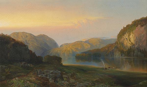 Evening on the Susquehanna, 1863   Thomas Moran   Painting Reproduction