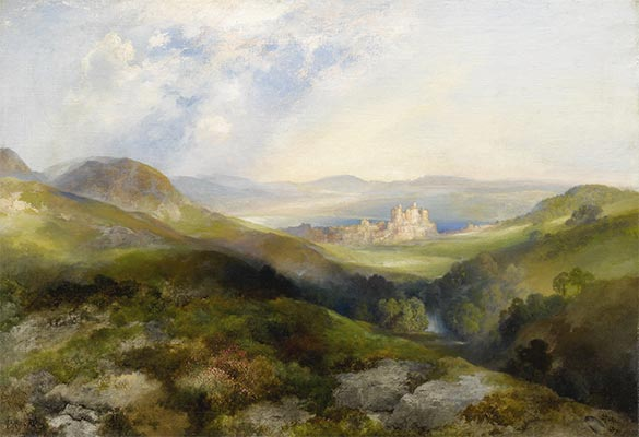 Conway Castle, 1917 | Thomas Moran | Painting Reproduction