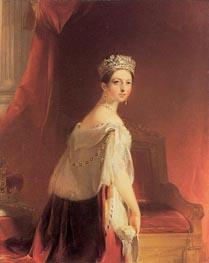 Thomas Sully | Queen Victoria, 1838 | Giclée Canvas Print