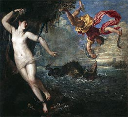 Titian | Perseus and Andromeda, c.1554/56 by | Giclée Canvas Print