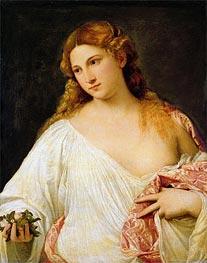 Titian | Flora | Giclée Canvas Print