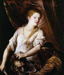 Titian | Judith with the Head of Holofernes | Giclée Canvas Print