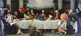 Titian | Last Supper, c.1557/64 | Giclée Canvas Print