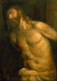 Titian | Flagellation of Christ, undated | Giclée Canvas Print