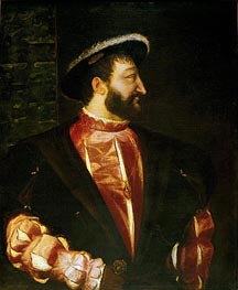 Titian | Portrait of Francois I, 1539 | Giclée Canvas Print