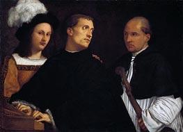 Titian | The Interrupted Concert, c.1510 | Giclée Canvas Print