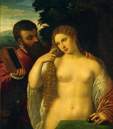Titian | Allegory (Alfonso d'Este and Laura Dianti), undated | Giclée Canvas Print