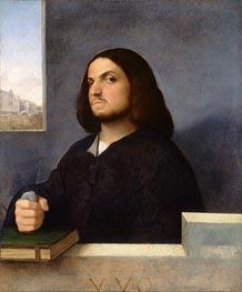 Titian | Portrait of a Venetian Gentleman, c.1510 | Giclée Canvas Print