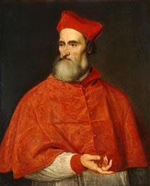 Titian | Cardinal Pietro Bembo, c.1540 | Giclée Canvas Print