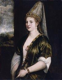 Titian | Sultana Rossa, c.1550/60 | Giclée Canvas Print