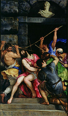 The Crowning with Thorns, c.1540/42 | Titian | Painting Reproduction