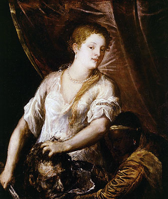 Judith with the Head of Holofernes, c.1570 | Titian | Painting Reproduction